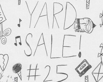 Yard Sale 25 zine
