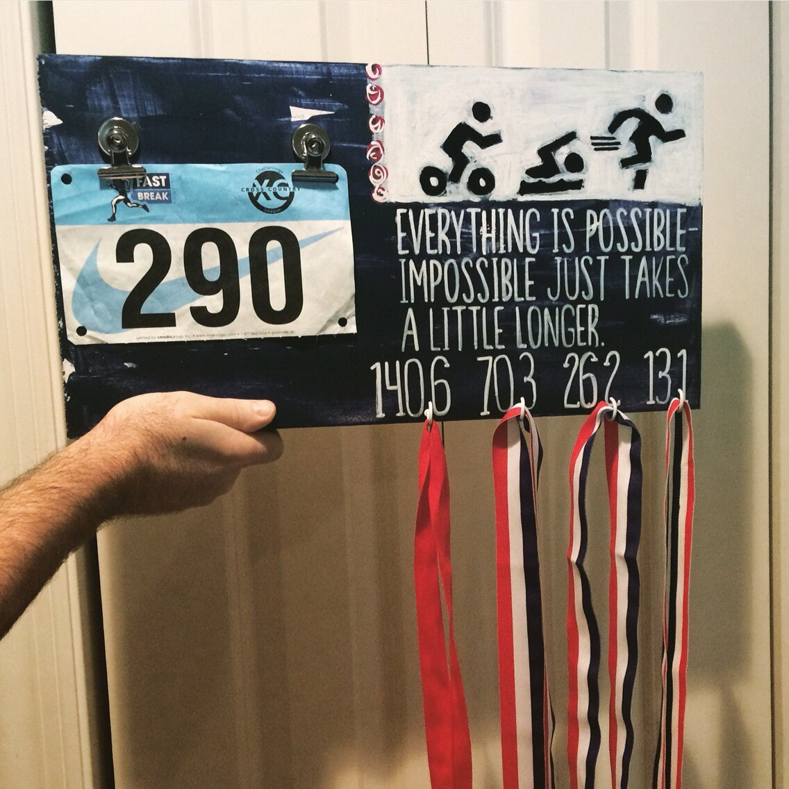 Race Medal Race/medal Holder Race Plaque