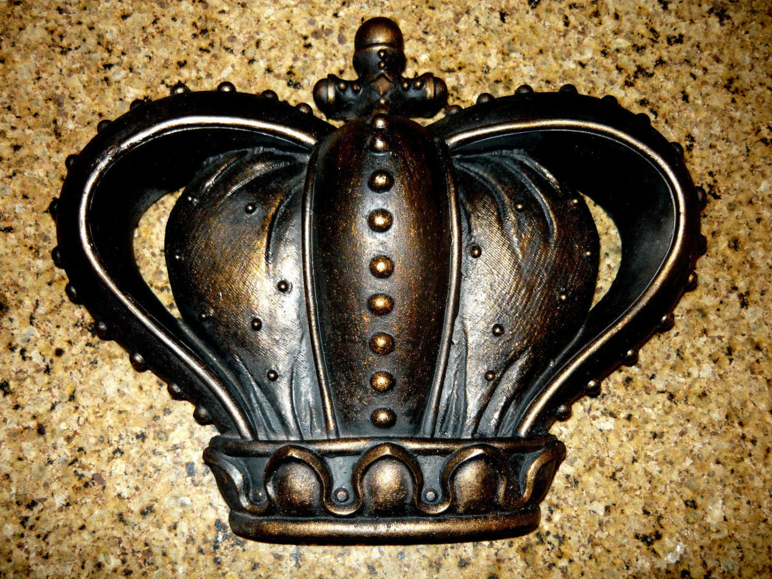 King And Queen Decor Crown Wall Plaque Wall Decor Free Usa Shipping Medieval