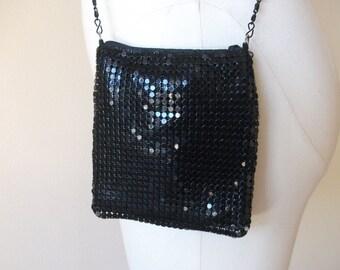 Metallic 80's Chainmail Club Bag