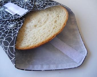 Spider Web  Reusable Sandwich Wrap/Cobweb  Reusable Sandwich Wrap
