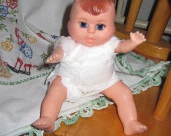 Vintage 3 Face Doll