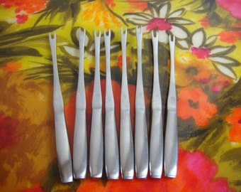 Hors d'oeuvre Forks by Kalmar - Set of 8 - Stainless