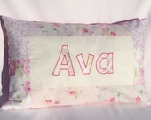Shabby Chic - Personalized Pillow