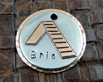 Agility A Frame, Custom Pet ID Tag, Dog Tag, Personalized ID Tag, Dog Collar Tags