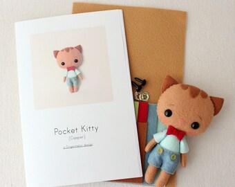 Casper Pocket Kitty Pattern Kit