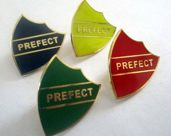 "Wizard School ""Prefect"" Badge / Enamel Pin"