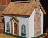 Irish Cottage Wedding Card Box