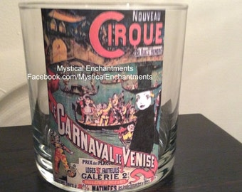 Halloween Vintage Cirque votive-tea light holder