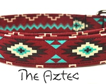 Multicolored Dog Collar - The Aztec
