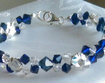 Something Blue Bridesmaid's Bracelet