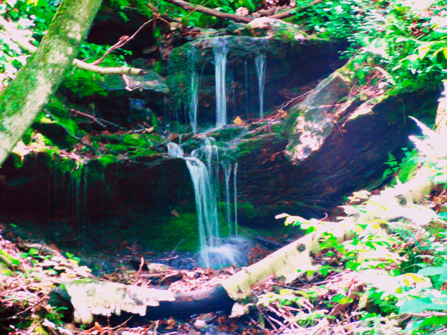 Water Fall And House Wall : Waterfall Photography..Waterfall Wall Art..Home Decor by by TFAS