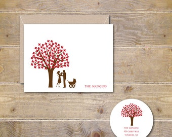 New Baby Cards, Baby Announcements,  Baby, Thank You Cards, Baby Thank You Cards, Birth Announcements,  Baby Shower, Pram, Stroller