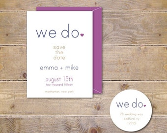 Rustic Wedding, Affordable Weddings, We Did, We Do, Outdoor Weddings, Save The Dates, Wedding Save The Dates,  Save The Date