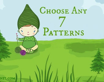 Choose Any 7 Patterns