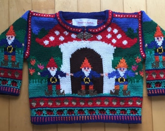Three Year Gnomes Sweater
