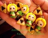 Kawaii Zelda Inspired Link Charm