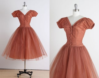 Emma Domb . vintage 1950s dress . vintage EMMA DOMB . 4950
