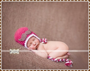 Crochet Mustache Ear Flap Hat Pattern, 8 Sizes from Newborn to Adult, LITTLE MAN - pdf 409