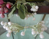 Vintage millinery flower buds, new old stock