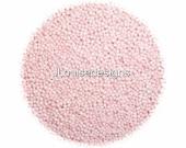 Blush Pink Nonpareils  Edible Sprinkles Cakepops Cupcake CandyConfetti Decorations 2oz.