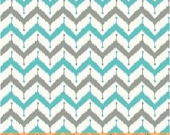Windham Fabric's Kinetic, Zig Zag 40079-4 (Turquoise) 1 yard