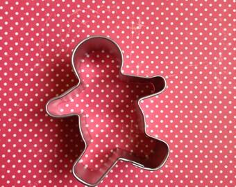 Mini Gingerbread Man Cookie Cutter / Christmas Cookie Cutter