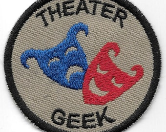 Theater Geek Merit Badge Patch