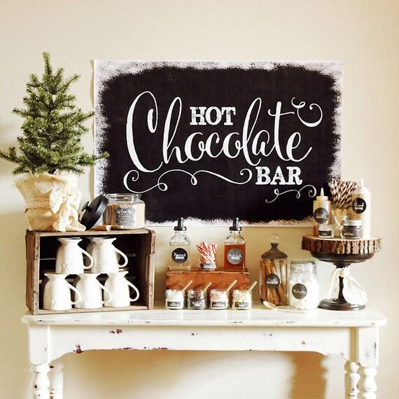 Chalkboard Hot Chocolate Bar - FULL Collection