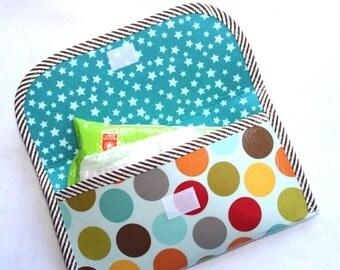 Diaper Wipe Clutch - Jumbo Dot