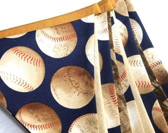 Vintage Baseball Bunting