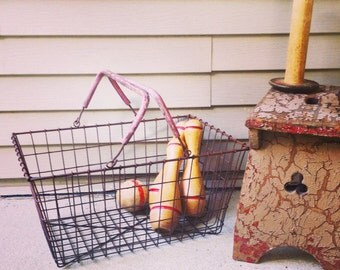 Shopping Basket / Laundry / Towel Organizer / Garden Tote