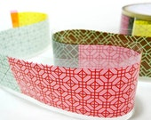 Korean Tradition Pattern Adhesive Tape (1.6in)