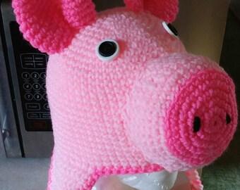 Crochet Piggy Hat