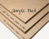 Sample Pack includes 4 A7 Invitations of your choice OR 6 A2 Post Cards of your choice