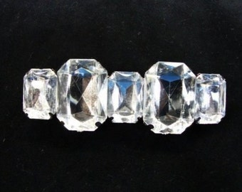 """10 pieces 3"""" width ( 76 mm ) clear acrylic fashion jewelry brooches"""