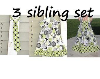 Coordinating Sibling Set
