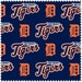 Detroit Tigers Major League Baseball from Fabric Traditions - Full or Half Yard