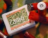 Handmade Camo Soap