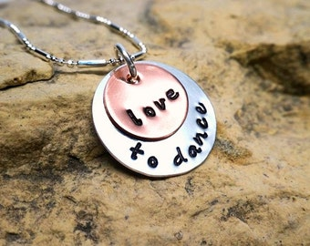 love to dance - jewelry for dancers