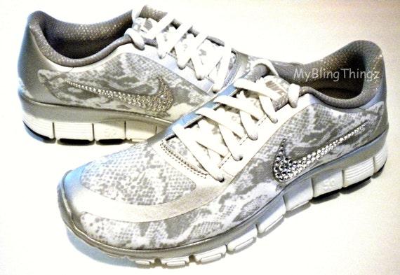 816fd9d38b46 SALE SNAKESKIN Nike Free Run 5.0 V4 Print Shoes by MyBlingThingz outlet