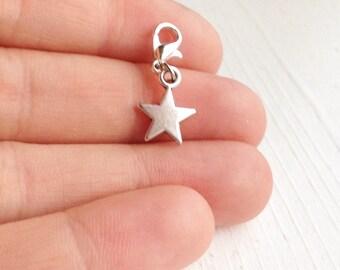 Tiny Star Charm / Planner Charm / Charm Bracelet / Glam Planning / Silver Star