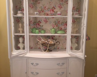 French china cabinet for Alex