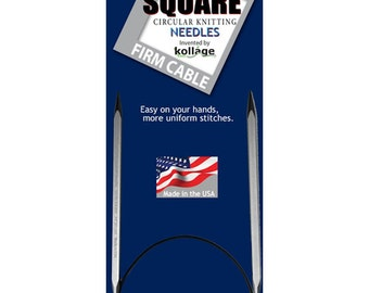 Kollage 24 Inch Size  0 (2.0mm) Circular FIRM Cable