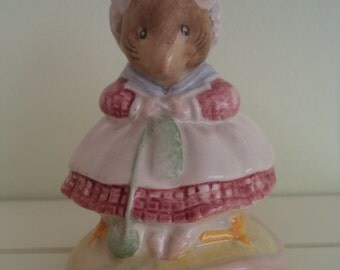 The Old Woman Who Lived In A Shoe Knitting, vintage Beatrix Potter