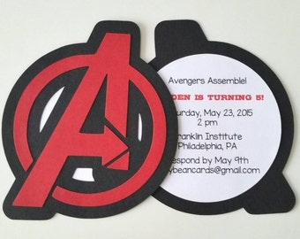 Avengers party | Etsy