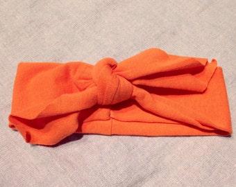 Orange Knit Headband NOW 20% OFF