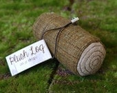Plush Log on a Strap