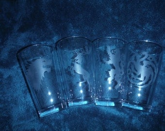 Set of Game of Thrones Glasses