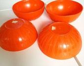 Vintage Deka Lotus Pattern Bowls -Set of 4 FREE SHIPPING!! Cathrine Holm